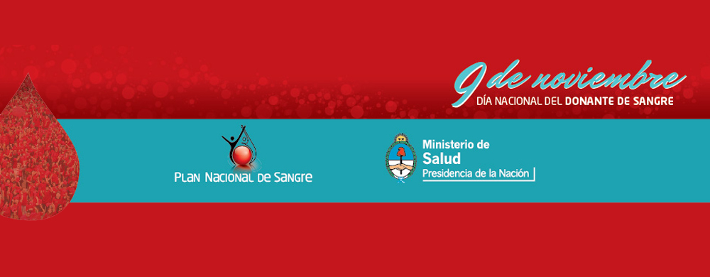 """Acto del """"Día Nacional del Donante Voluntario de Sangre"""""""