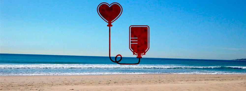 La Donación de Sangre no se toma vacaciones
