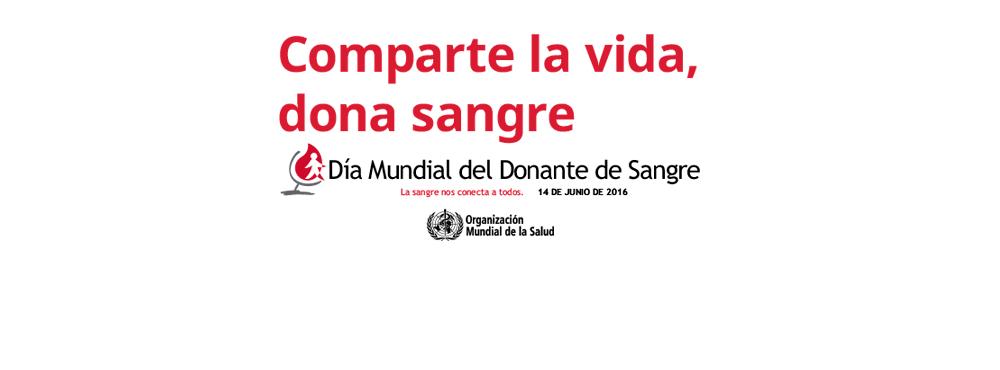 14 de junio – Día Mundial del Donante de Sangre