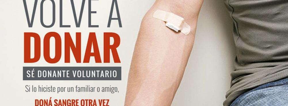 9 de noviembre: Día del Donante Voluntario de Sangre