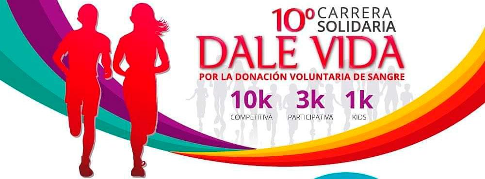 10° carrera solidaria Dale Vida